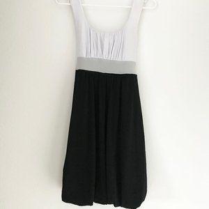 XOXO Black and White Cocktail Dress
